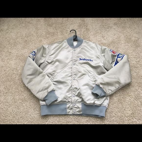 pretty nice d800d 31640 Vintage Seattle Seahawks Starter jacket size M